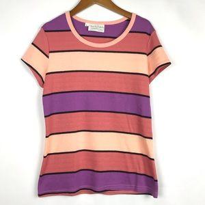 Vintage Diane Von Furstenberg Striped T-Shirt